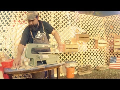 selling woodworking projects at the fairgrounds