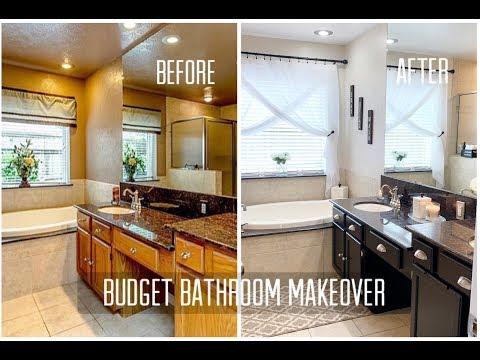 Budget Bathroom Makeover
