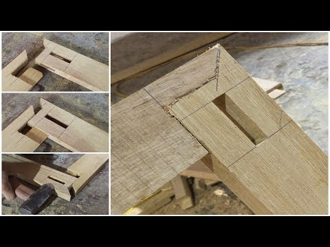 Woodworking Project 🔨 [DISCOVERY] How Make Wooden Frame With Japanese Impossible Dovetail Joint