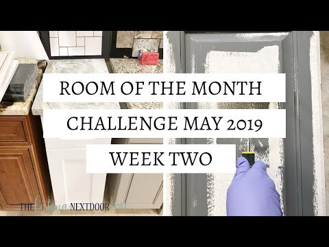 Room of the Month Challenge – Week 2 of Guest Bathroom Makeover