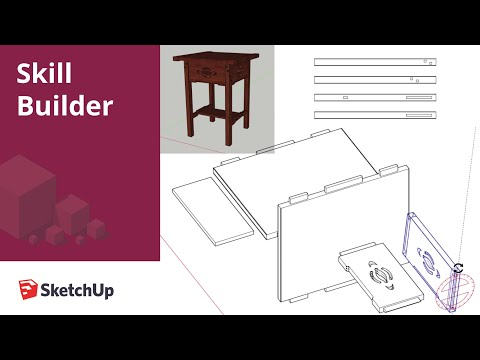 Prepping Woodworking Projects for LayOut in SketchUp