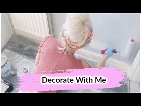 DECORATE WITH ME | HOME DECOR | BATHROOM MAKEOVER | PART 2