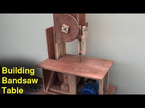Building Bandsaw Table – Amazing Homemade Woodworking Tools – Woodworking DIY At Home