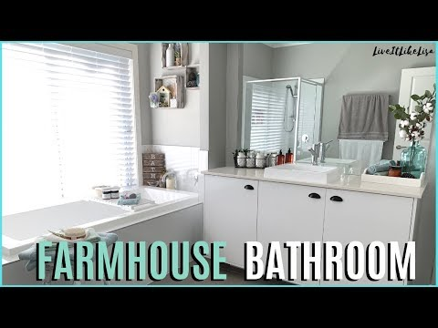 FARMHOUSE BATHROOM MAKEOVER | Farmhouse Decor Updates