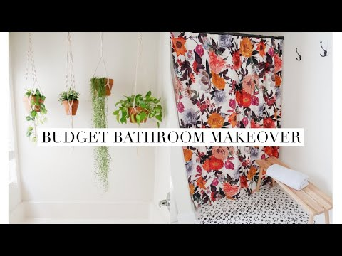 DIY Budget Bathroom Makeover – Beyond Paint