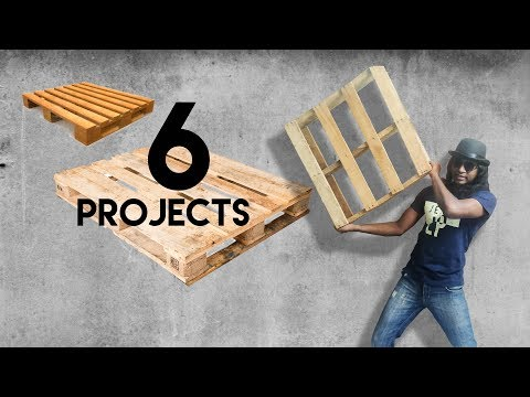 6 Projects from Pallet Wood