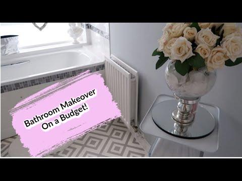 BATHROOM MAKEOVER TOUR | ON A BUDGET | HOME DECOR IDEAS