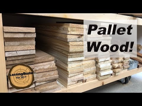 How To Get More Wood from PALLETS | Woodworking