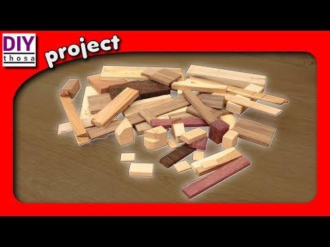 🔴 Scrap Wood Projects #1 – Hard Wood