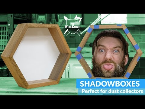 How to build a Hex Shadowbox – Woodworking
