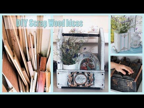 DIY: ИДЕИ ПОДЕЛОК ИЗ ДЕРЕВЯННЫХ ОБРЕЗКОВ И СТРОИТЕЛЬНОГО МУСОРА| Scrap wood projects| Fosssaaa
