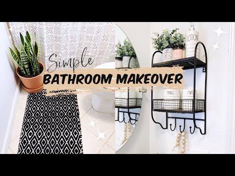 CLEAN WITH ME 2019    BATHROOM MAKEOVER 2019    RAEDUNN    Dez Frias