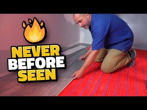 How To Install Vinyl Flooring | Bathroom Remodel
