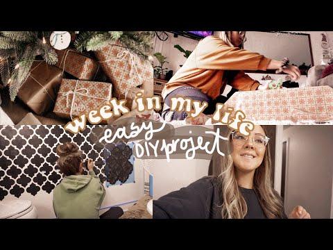 WEEK IN MY LIFE…BATHROOM MAKEOVER DIY