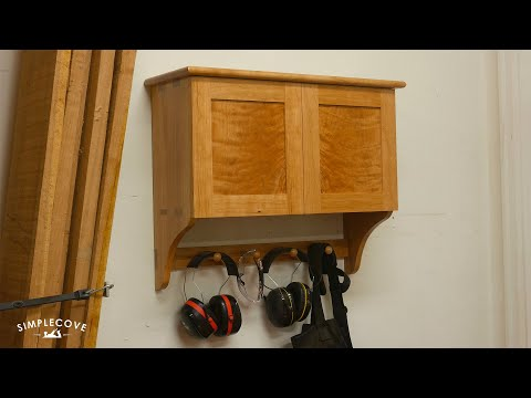 How To Make A Shaker Wall Cabinet | Woodworking Project