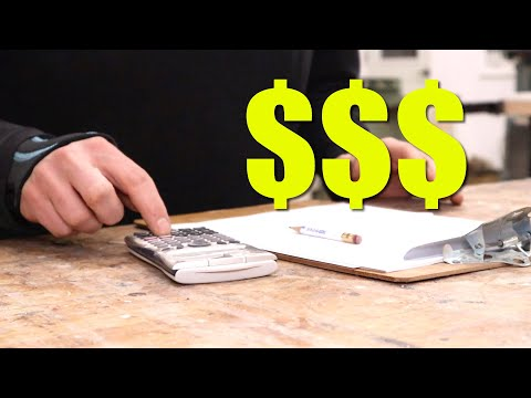 How To Price Your Woodworking Projects