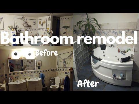 Bathroom makeover I Bathroom remodel I Budget friendly