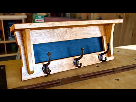 Samurai Entry Shelf [Traditional Joinery]