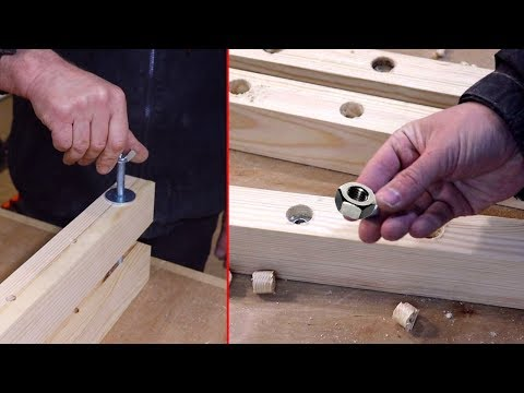 50 Amazing Woodworking Projects Skills Fast and Easy Smart Craft – Make Wood Clamps Table | UW 2020