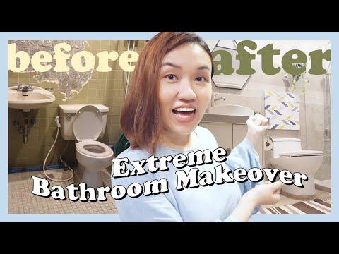 Extreme Bathroom Makeover // Banyo Storage Idea // by Elle Uy