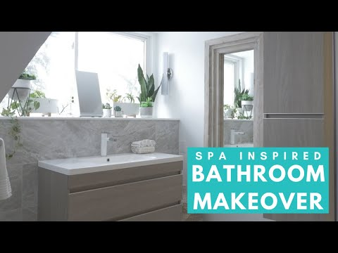 SPA INSPIRED BATHROOM MAKEOVER | Plus Styling Tips!