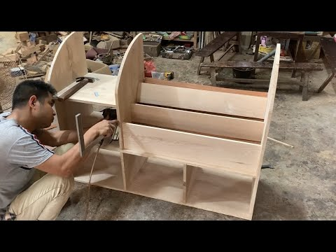 Woodworking Project – How To Build a Wooden Bookcase Easy
