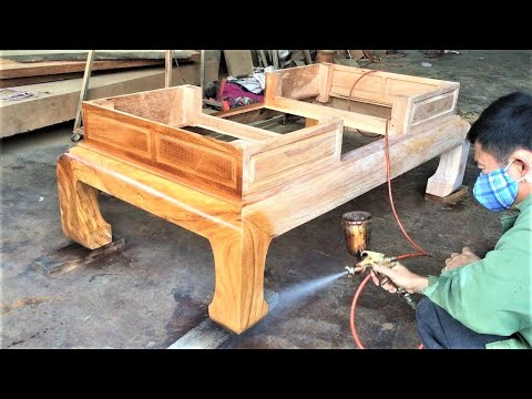 Amazing Woodworking Projects From Hardwood || Skills And Techniques Can You've Never Seen…