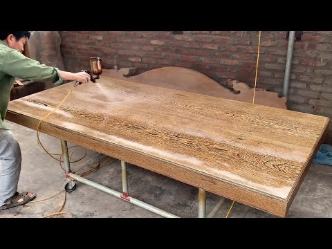 Amazing Design Ideas Woodworking Project – Build A Extreme Large Wooden Table Modern Unprecedented