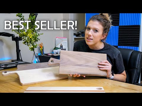🛠We PROTOTYPE Some New CHARCUTERIE BOARDS – 💰Sell Woodworking Projects