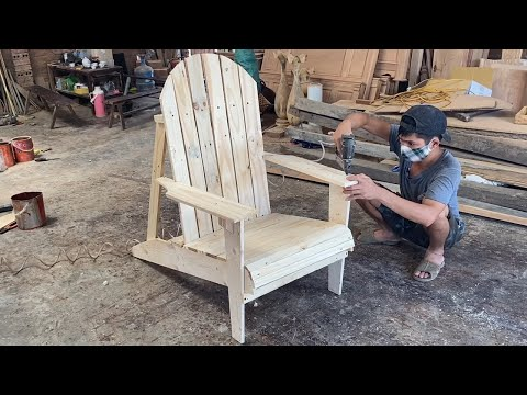 Amazing Best Idea Woodworking Projects Use Of Old Pallets Bar – Building Outdoor Wooden Chair Modern