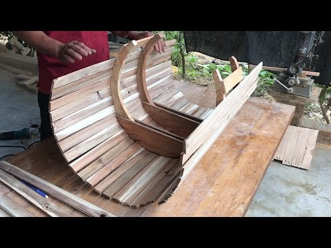 Woodworking Ideas Created From Pallets // Amazing Woodworking Project Decorating Your Porch!