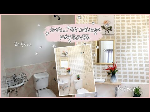 DIY // PINTEREST INSPIRED BATHROOM MAKEOVER