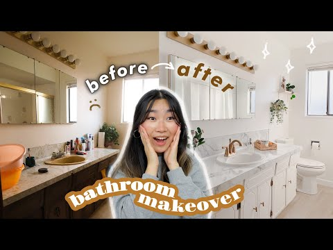 Extreme DIY Bathroom Renovation Makeover (Part 3) | JENerationDIY