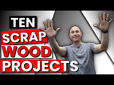 10 AMAZING Scrap Wood Project Ideas   Beginner Woodworking Projects