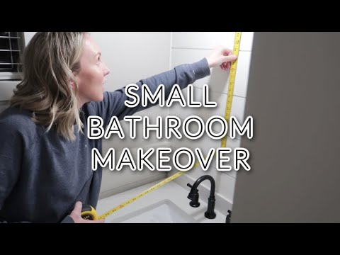SMALL BATHROOM MAKEOVER | PART 2
