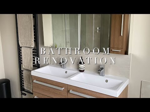 Bathroom Renovation   Before, During & After