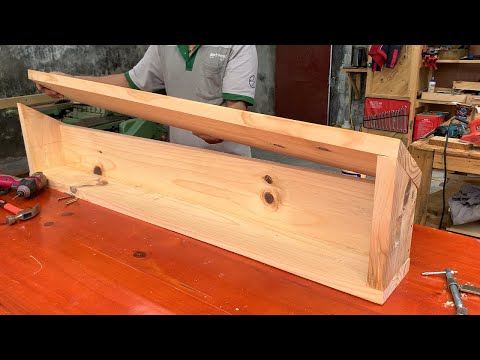 Unique and Useful Woodworking Project Ideas // How To We Made Feed Troughs For Our Cattle