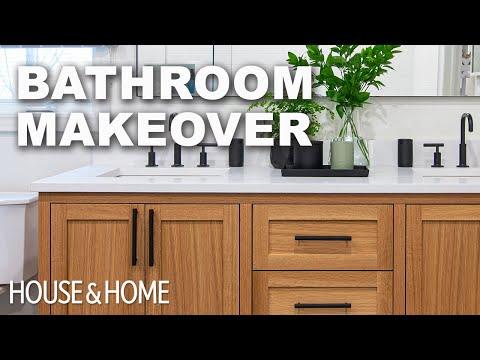 Before & After: Builder-Basic Bathroom Makeover
