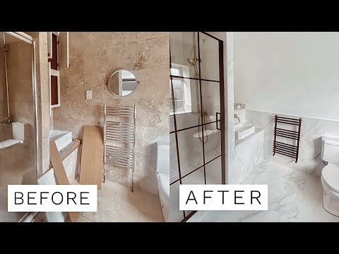 UK BATHROOM RENOVATION – BEFORE & AFTER | Fashion Influx