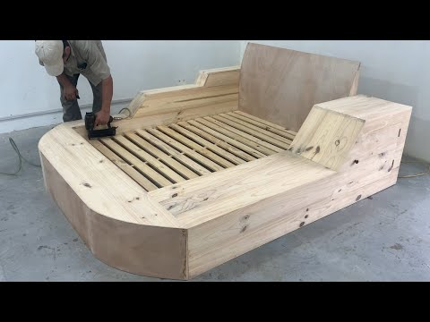 Amazing Idea Extremely Creative Woodworking Project – Build A Modern Bed With Sofa For Your Son