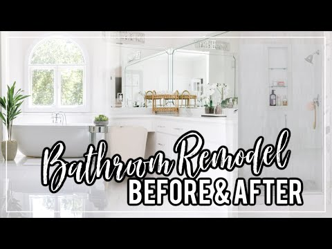 1990's Bathroom Remodel | Before & After Tour! #HouseToHome