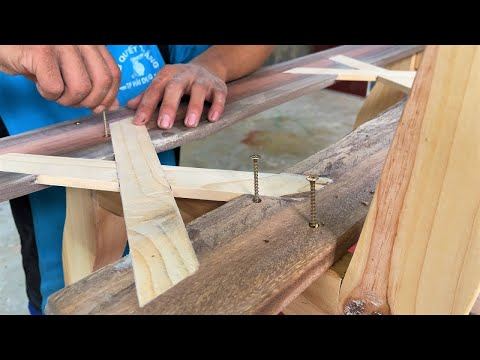 Exquisite Design Ideas For The Coolest Woodworking Projects // How To Build a Garden Bench – DIY!