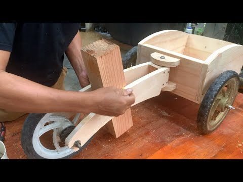 Very Creative Woodworking Design Ideas // DIY Super Cute Kids Wooden Tricycle